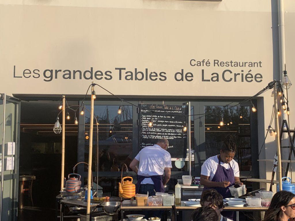 Les 4AS - Les grandes Tables de la Criée - Marseille